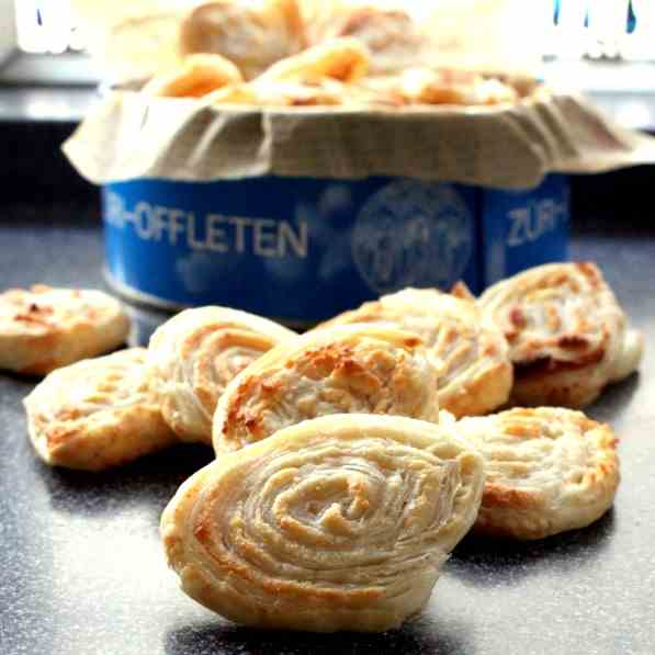 Puff Pastry Almond Swirls