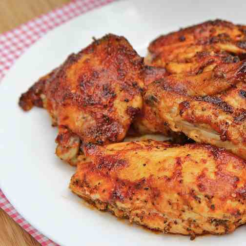 Grilled Chicken With Orange Barbecue Sauce