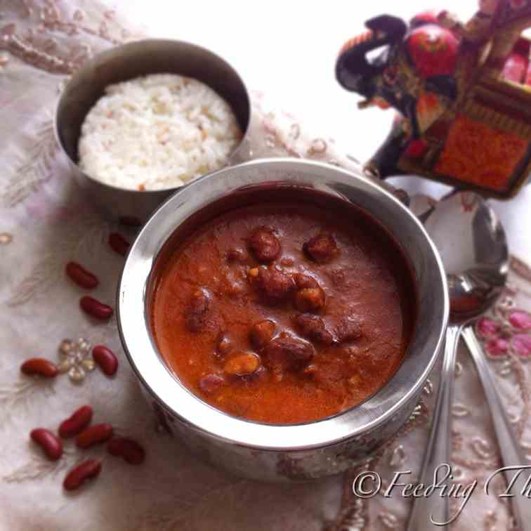 Rajma Curry - Red Kidney Beans Curry