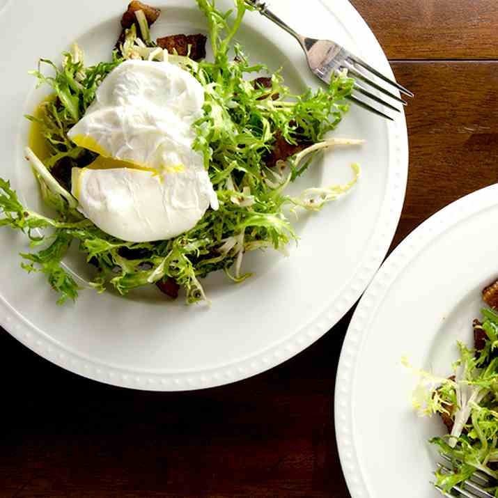 French Frisee Salad Recipe