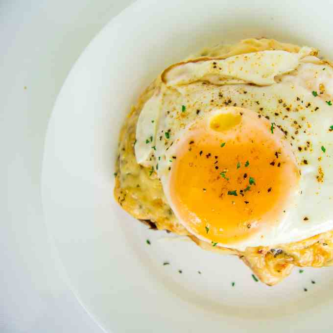Not So Traditional Croque Madame