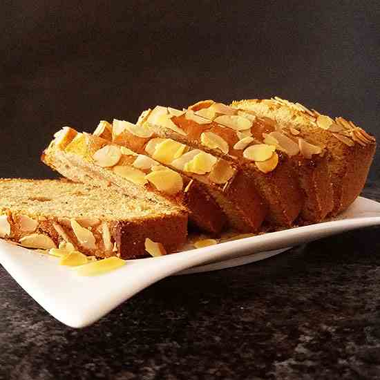 Speculoos ( aka Biscoff ) Bread with Almon