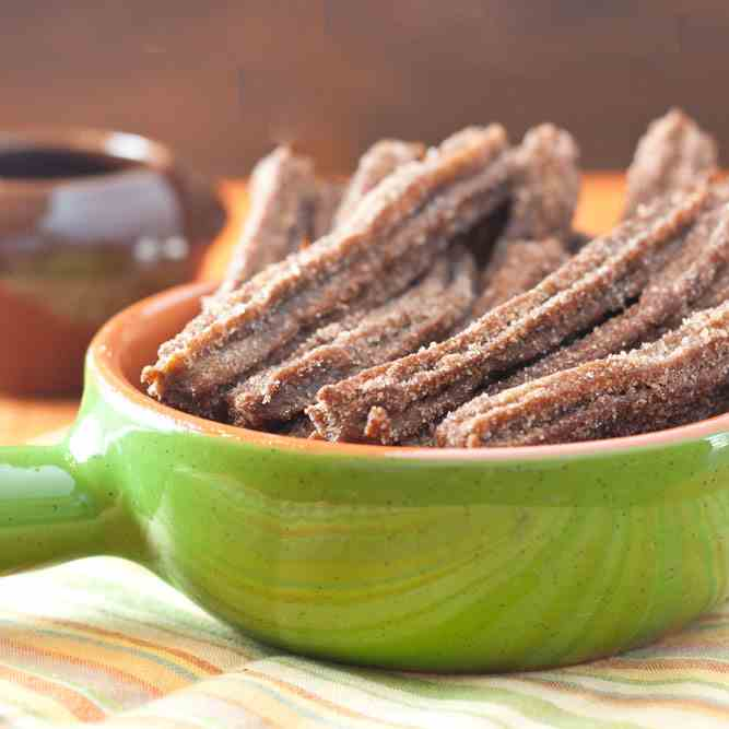 Chocolate Infused Churros