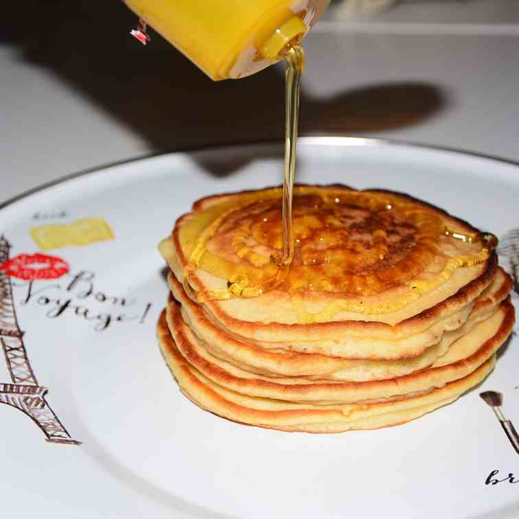 Pancakes- the American style-