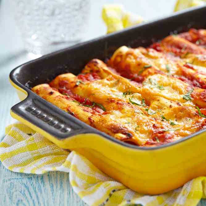 Minced Pork Cannelloni Recipe