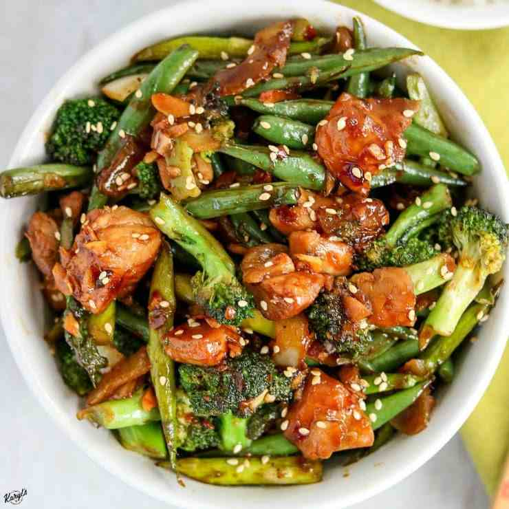 Spicy Chicken Vegetable Stir Fry