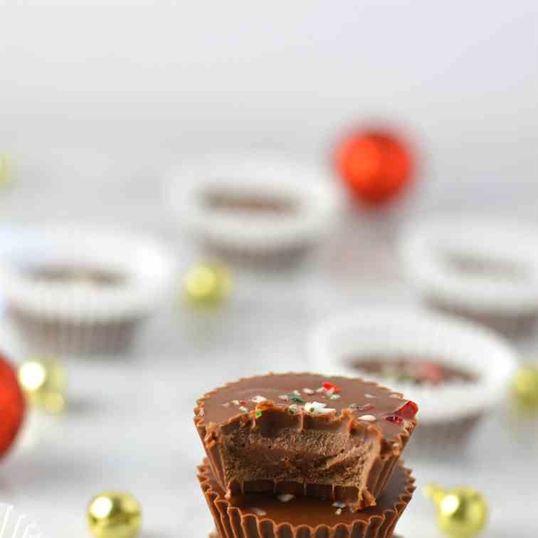 Peppermint Nutella Cups