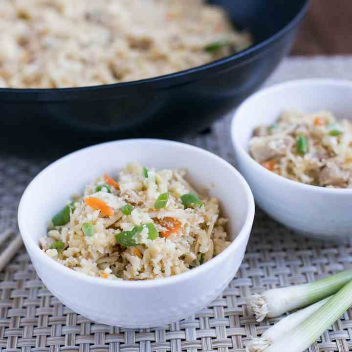 Cauliflower Pork Fried Rice