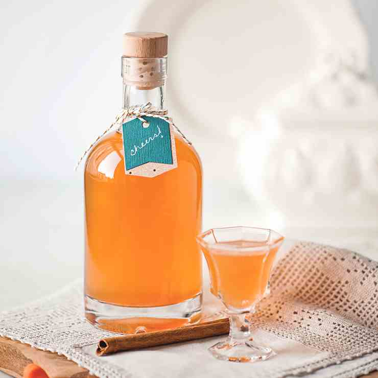 Homemade Carrot Cake Liqueur