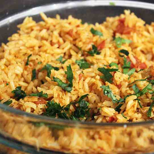 Toasted Mexican Rice