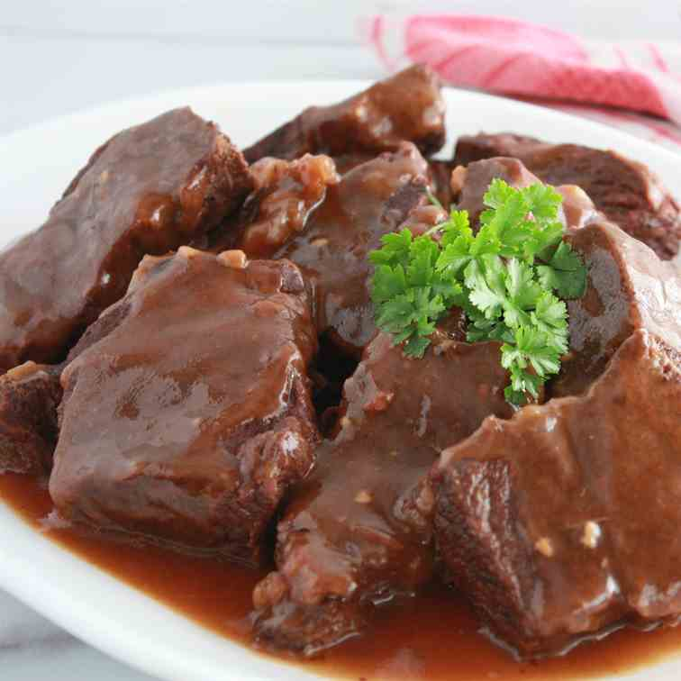 Instant Pot Short Ribs with Gravy