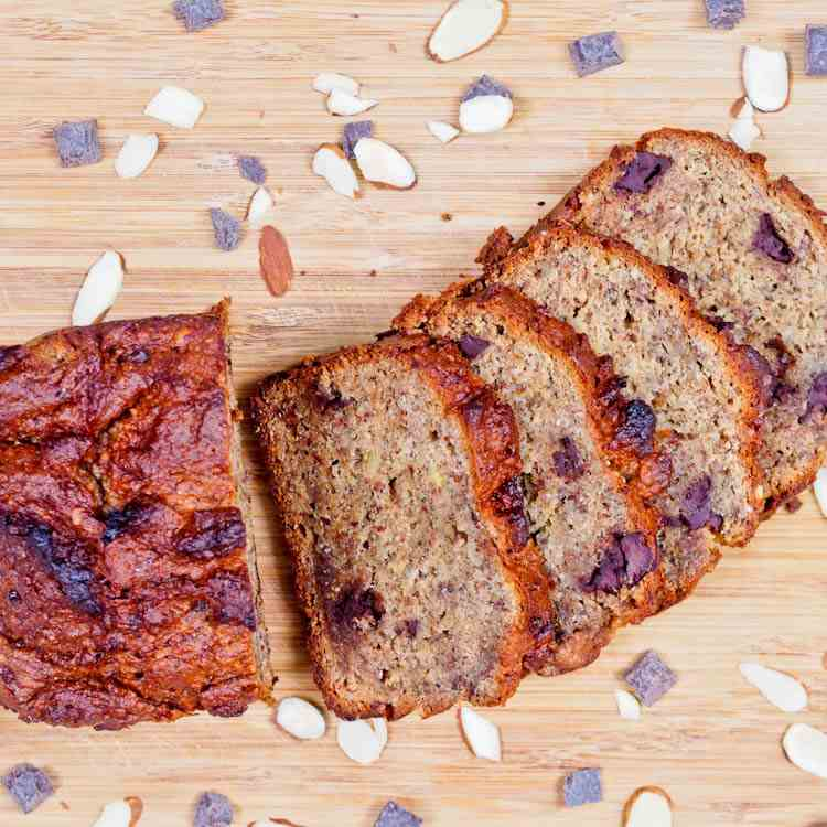 One Bowl Vegan GF Banana Bread