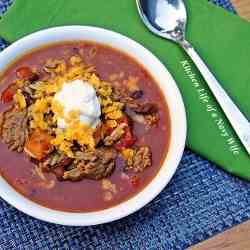 Sweet Mesquite Taco Soup