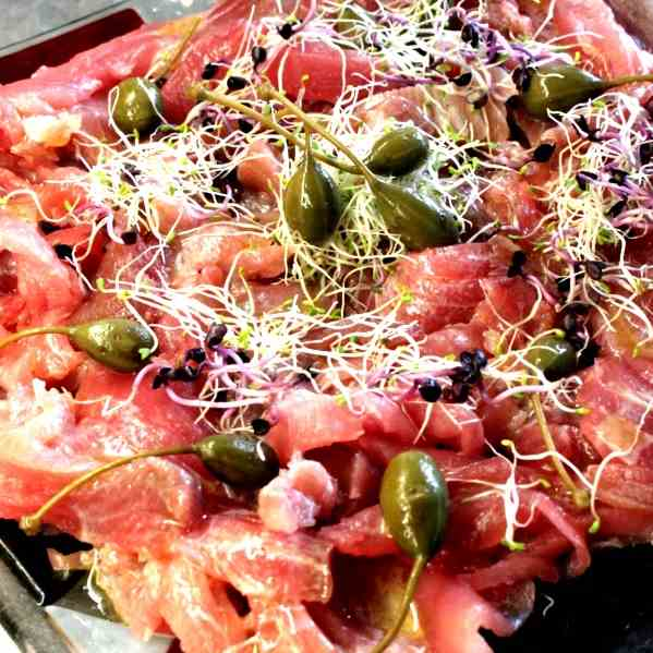 Tuna Fish Carpaccio