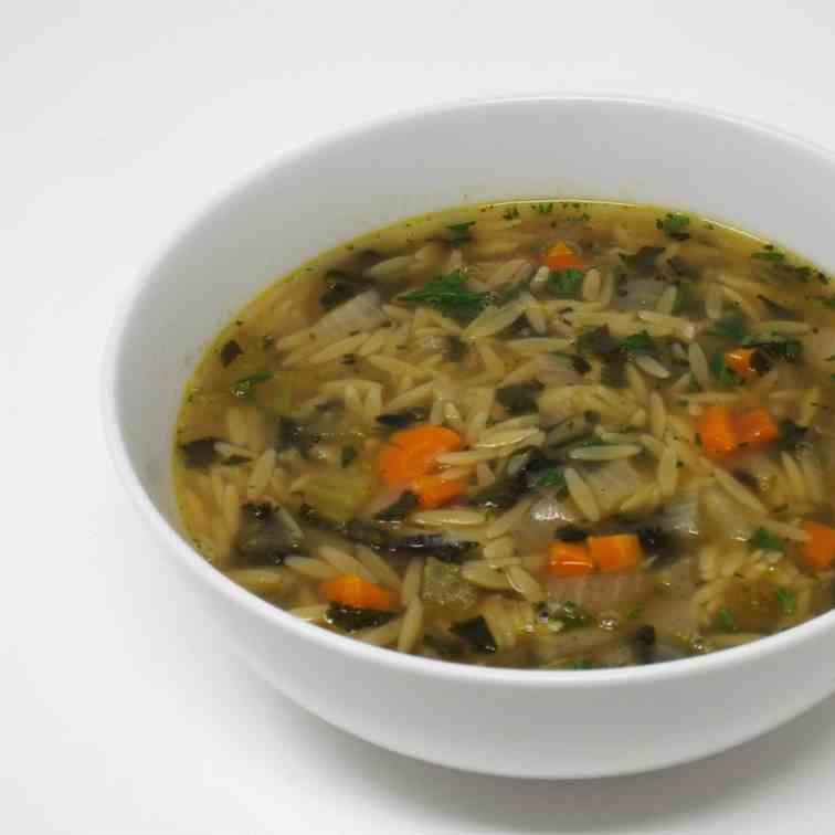 Vegetable Orzo Soup