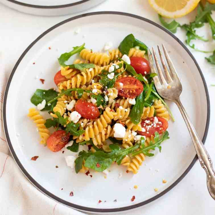 Rotini Chickpea Pasta with Arugula