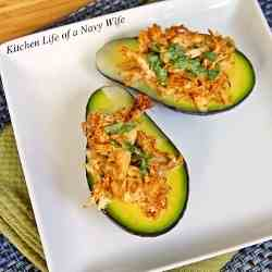 Stuffed Avocados with Cilantro (or Parsley